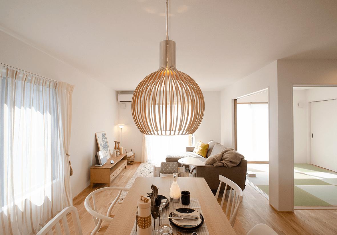 贅沢な広々最高級プランの家具家電